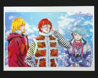 Death Note Wammy Boys Anime Manga Premium A4 Print / A3 Poster