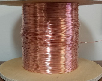 copper wire - 16 gauge copper wire - bare copper - 100 ft. spool
