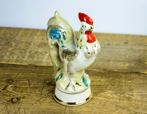 Vintage 1980 s white porcelain home decor made in ussr russian
