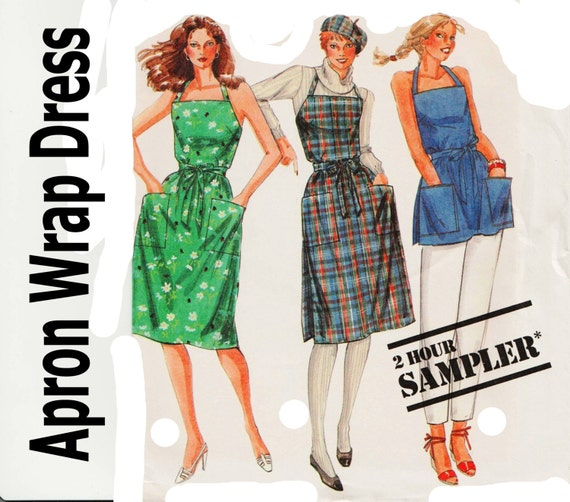 Apron Wrap Dress Mccall S Sampler Pattern By Theperfectpattern
