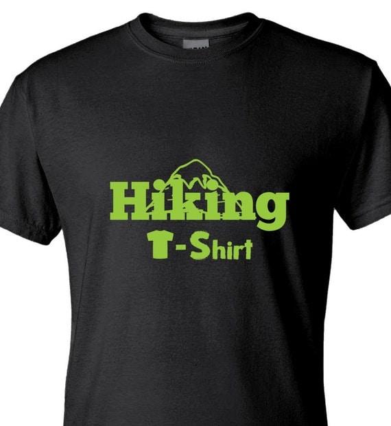 Hiking T Shirt Gildan G800 50 50 Cotton Polyester By Labotta