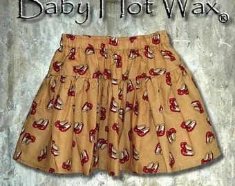 Ruby Red Slippers Skirt Wizard of Oz