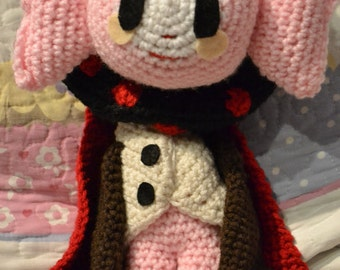 Puella Magic Madoka Magica Witch Charlotte Crochet Amigurumi Plushie