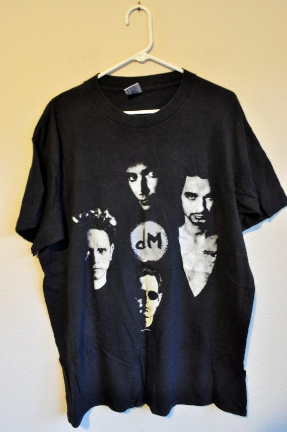 depeche mode vintage concert t shirt one size xl devotional. Black Bedroom Furniture Sets. Home Design Ideas