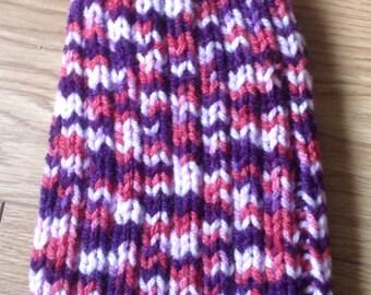 Handmade ladies knitted beanie hat!