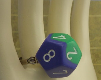 Ring- Geek Ten Sided Die Ring