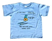Petulant Wizard Duck Kids T-Shirt - Cute Funny Duck TShirt - Youth and Toddler Sizes