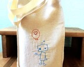 Reusable Lunch Bag  - Lunch Bag - Robot - Eco Friendly