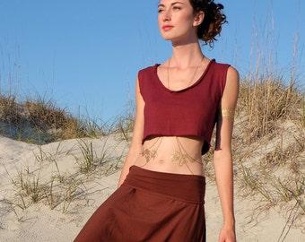 Women's ORGANIC - Ritual Simplicity Bralette ( LIGHT Hemp/Organic Cotton Knit ) - hemp shirt