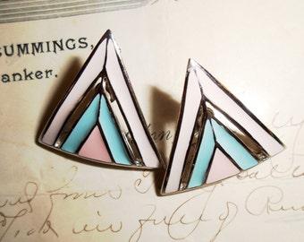 New Wave 80's Earrings