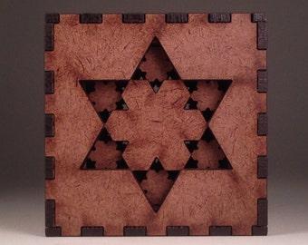 Fractal Nesting Box - Hexagon-Stars