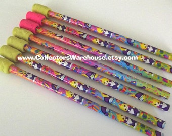 Lisa Frank Pencil Prints Kittens birthday party celebration  Back to School Office Supplies