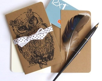 Scops Owl Notebook
