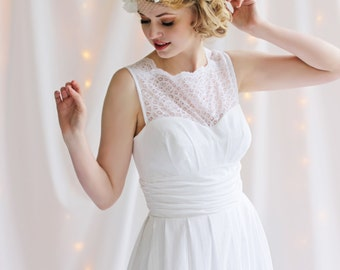 Cotton Cloud Wedding Gown
