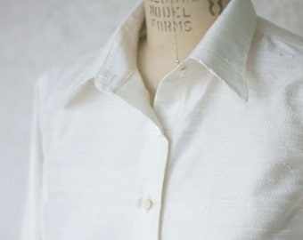 Silk Buttondown Shirts---Custom Cut and Made-To-Measure