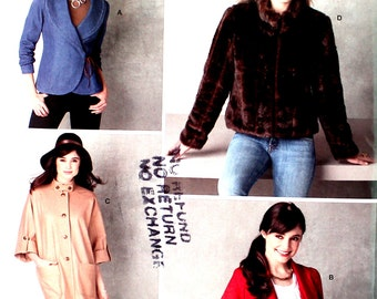 UNCUT Short Jacket from the Publisher of Threads Magazine Bust 36 - 44 Simplicity 2150