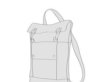 Custom Leather Backpack, Laptop Backpack, Professional Backpack, Rucksack Bag, Back to School Backpack, 17 inch Laptop Backpack