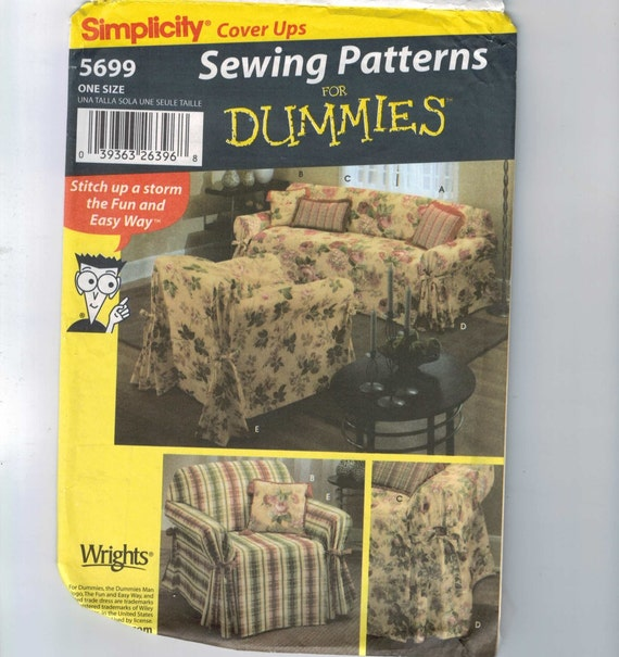 home decor sewing pattern simplicity 5699 by no sew home decor diy projects sew it yourself home