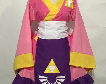 Zelda Kimono Dress Set