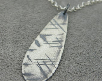 Scar Tear Drop Pendant