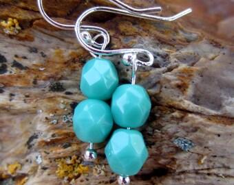 Milky Jade earrings