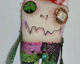 Mini St. Patricks Monster Zombie Doll V-7