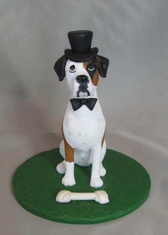 custom wedding cake toppers with dogs custom made wedding cake topper clay by cherishcaketoppers 13262