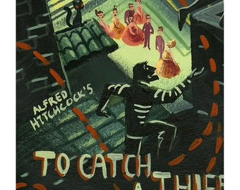 To Catch a Thief - Print