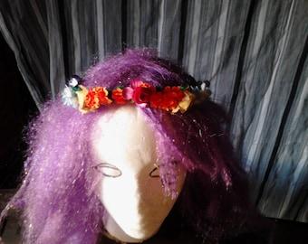 Rainbow Faerie Crown