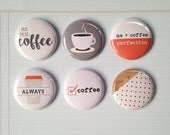 Very Merry Flair Badges : Coffee Lover Set