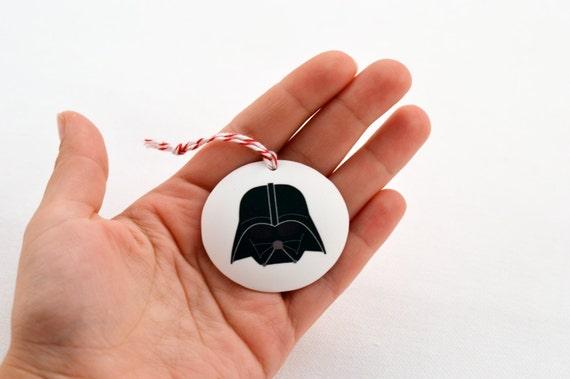 darth vader ornament, star wars ornament, star wars gift under 10