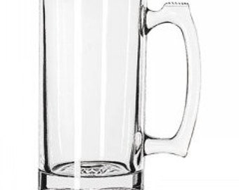 "25 Ounce Beer Mug that ""You Design"""