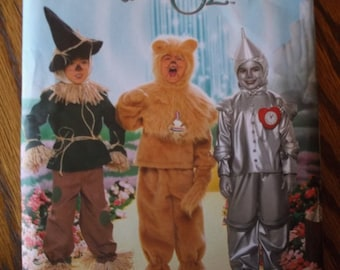 Wizard of Oz Childs Costume Pattern Simplicity 4133 Childs Size 3,4,5,6,7,8,