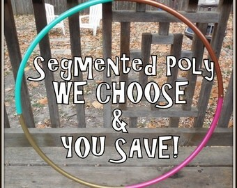 NeW! - SaVe BIG on an 'UpCyCLeD POLYPRO!' - 4-Piece Segmented in Color Scheme of YOUR Choice!