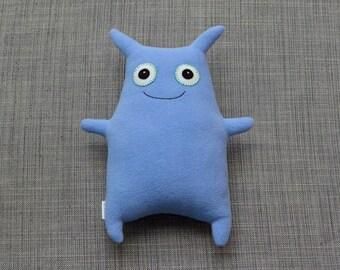 Periwinkle Monster Stuffed Animal, Riley
