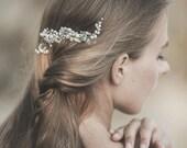 Wedding Hair Comb, Wedding Headpiece , Pearl Hair Comb , Wedding Hair Vine, Ivory Pearl Hair Comb , Bridal Hair Accessories