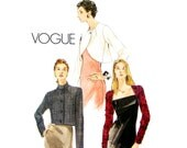 Womens Jacket Pattern Vogue 7021 Short Boxy Jacket Bolero Jacket Shaped Hem Evening Jacket Womens Sewing Pattern Size 14 16 18 UNCUT