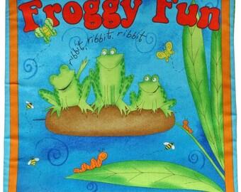 Froggy Fun Soft book