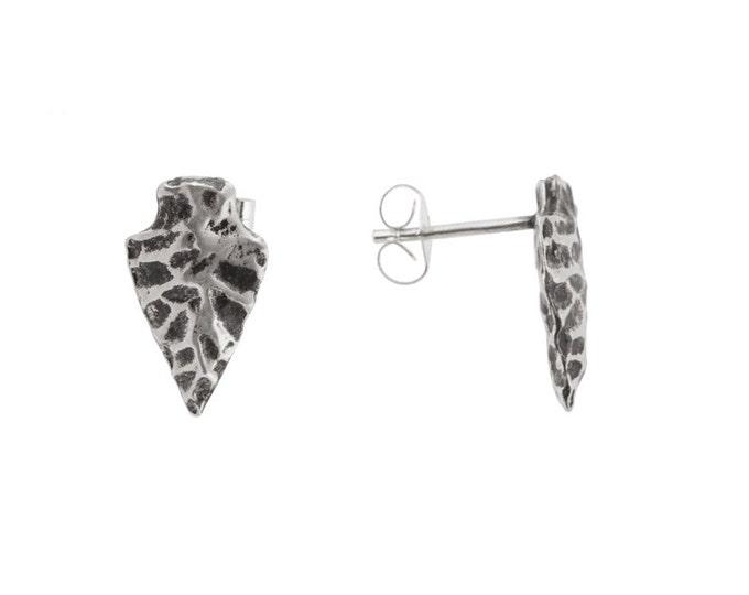 Arrowhead Studs in Sterling Silver