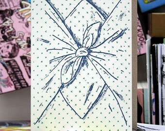 Crosses Furoshiki Greeting Card