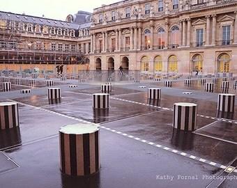 Paris Photography, Palais Royal, Paris Palais Royal Architecture, Paris Large Wall Art Prints, Paris Fine Art Photography, Paris Buildings