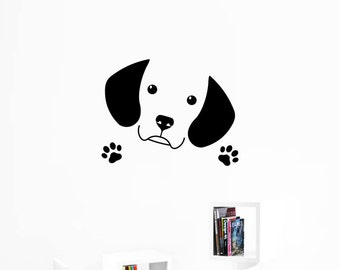 Cute Beagle Wall Decal