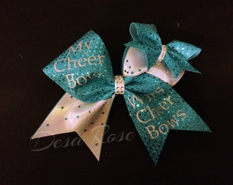 My Cheer Bow wears Cheer Bows