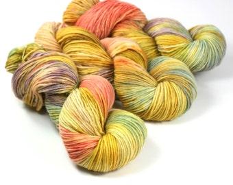 ONE dk yarn, single ply, SUNDRESS