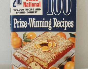 Vintage First Edition 2nd Pillsbury Grand National Cook Book