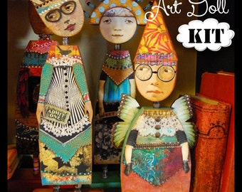 Basic Doll Kit - for THE IMAGINARIUM - Anthology of an Art Doll Class
