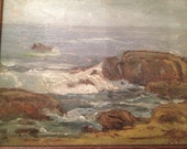 Vintage Original Seascape