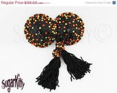 ON SALE RTW Halloween Sprinkles Round Rhinestone Nipple Pasties - Size M - SugarKitty Couture