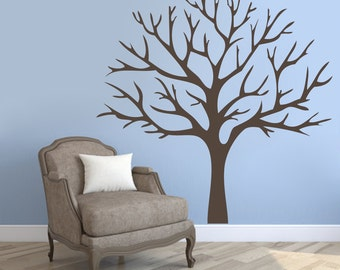 Winter Tree - Trees and Branches Wall Decals