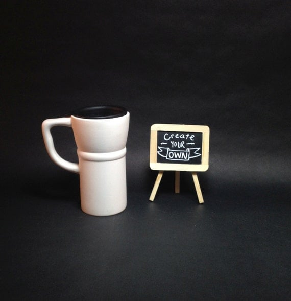 Create Your Own Ceramic 20 0z Travel Mug With Lid 5 X